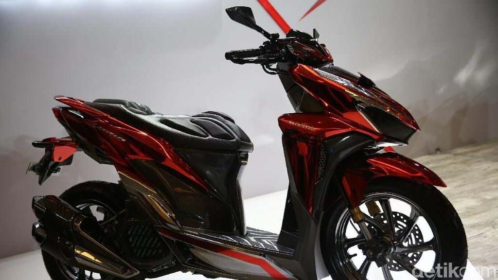 Sangar, Vario Pakai Knalpot Honda CBR250RR