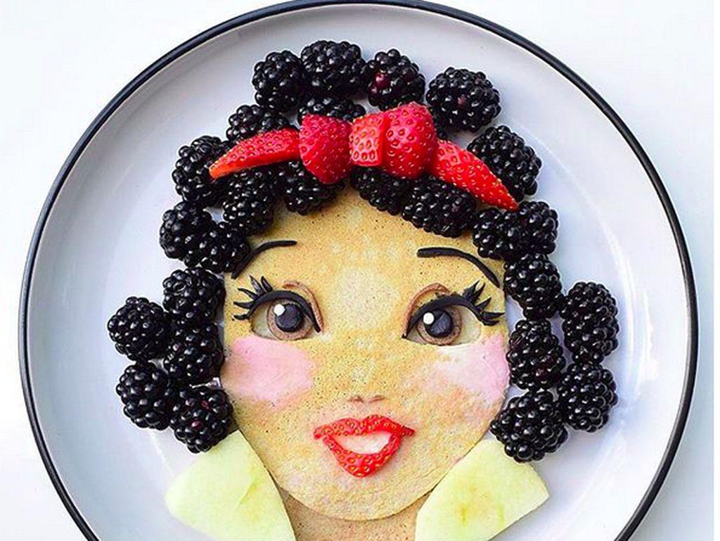 Lucu Banget! Saat Tokoh Kartun Favorit Anak Ada di Piring Makan