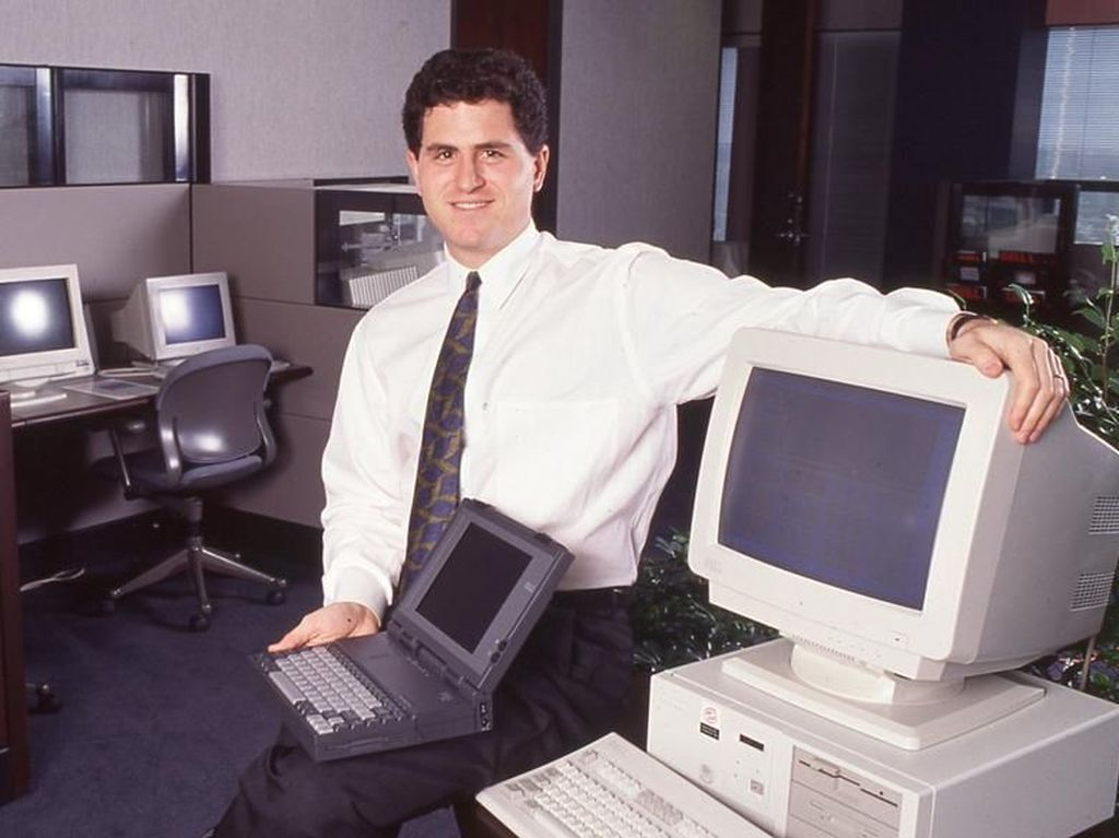 Kisah Pria DO Jadi Juragan Komputer Berduit Rp 324 Triliun