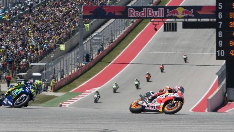 Waktunya Balapan di Austin Usai Insiden Teranyar Rossi vs Marquez