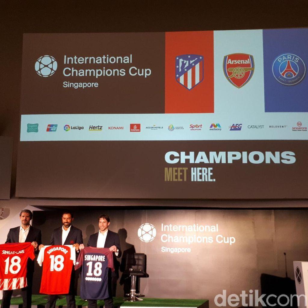 Siap-Siap Menyambut Arsenal, Atletico, dan PSG di ICC 2018