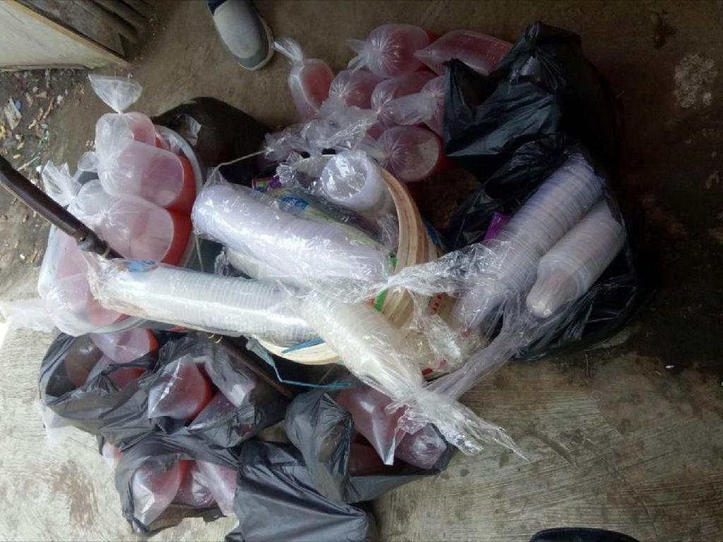 Foto: Penampakan Miras Oplos Pembersih Lantai Made in Cianjur