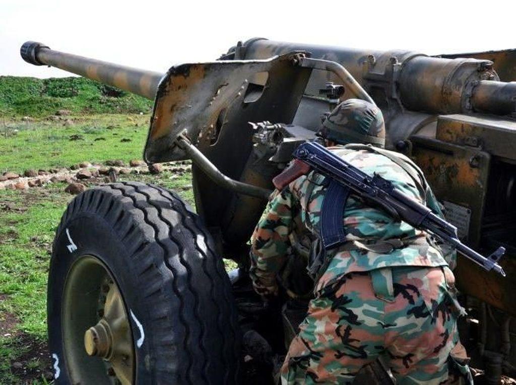 Bombardir ISIS, Suriah Berhasil Rebut Kembali Lembah Yarmuk