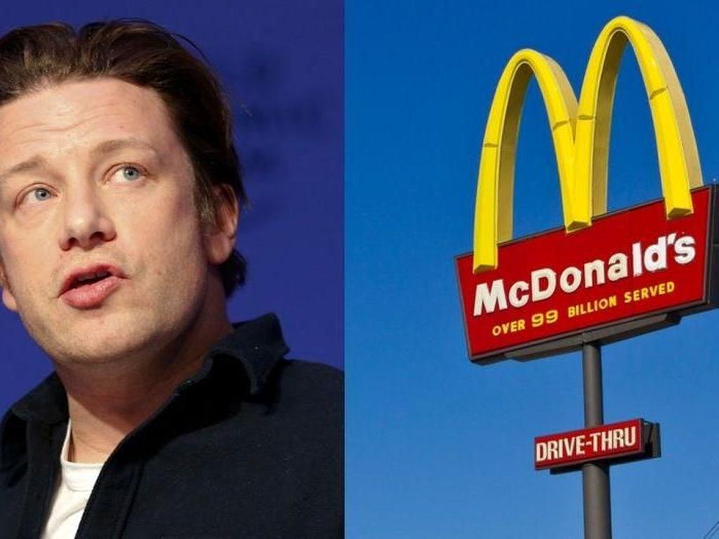 Chef Jamie Oliver Izinkan Anaknya Makan McDonalds Kalau Mereka Mau