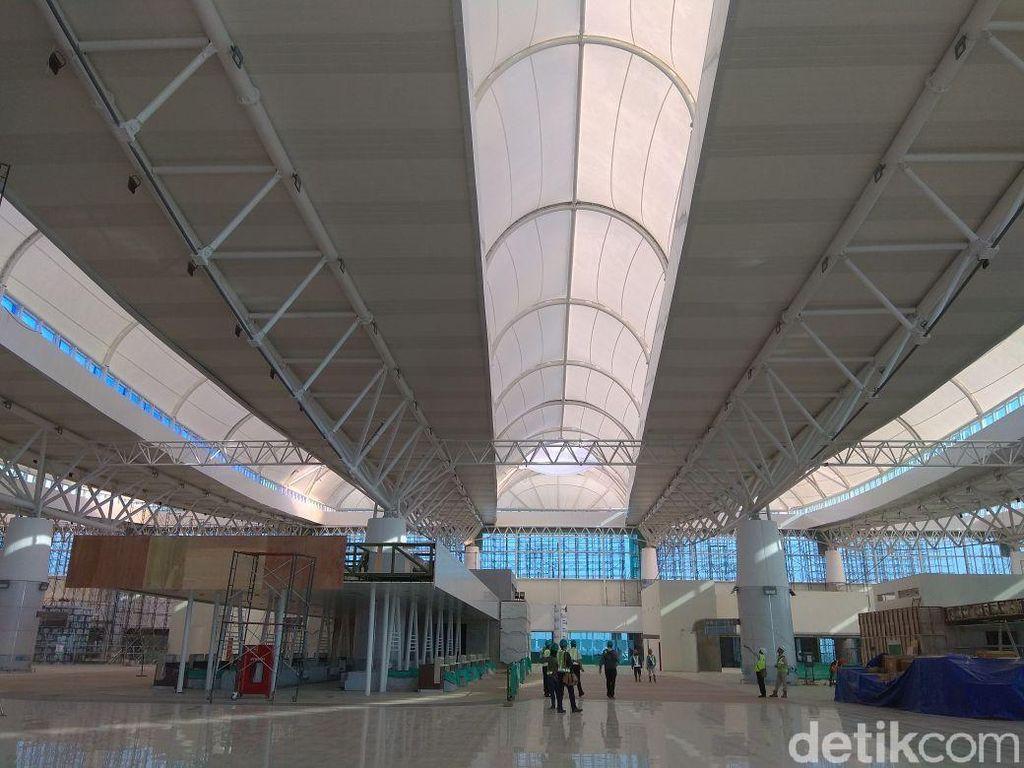 Pelaku UMKM Keluhkan Mahalnya Sewa Kios di Bandara Kertajati