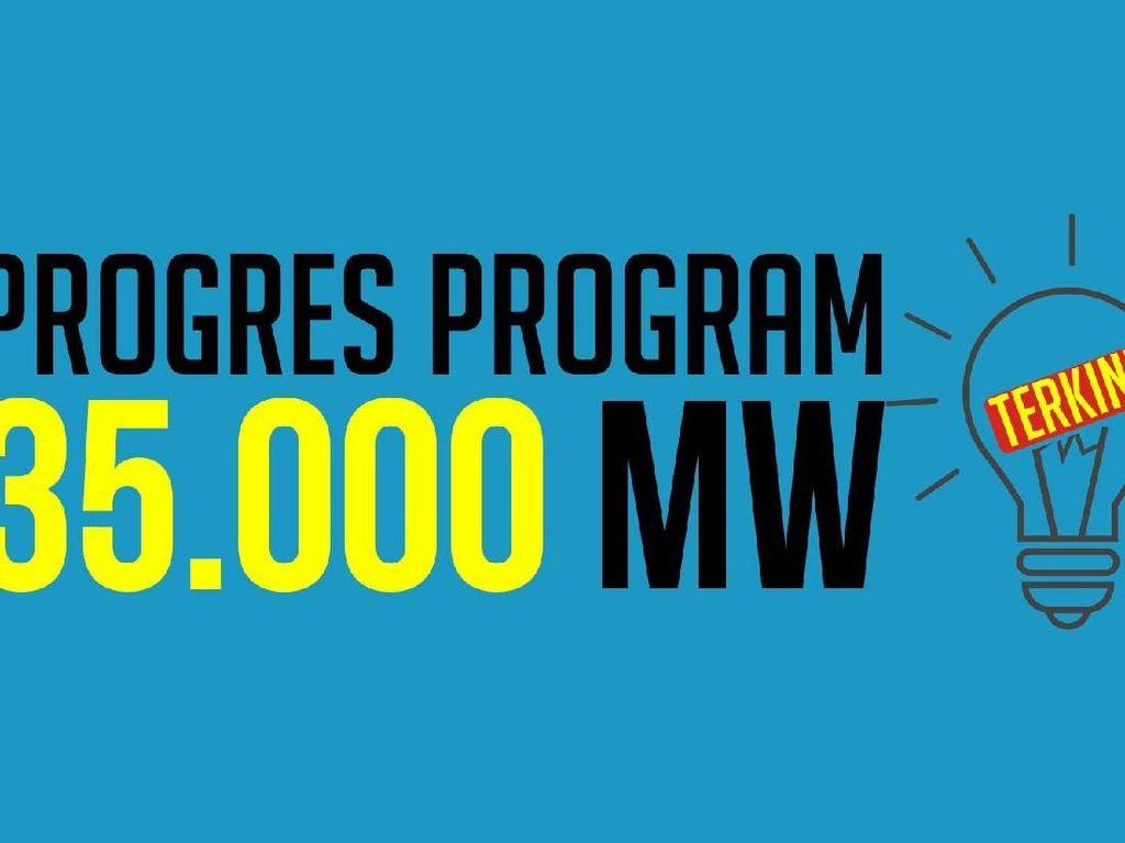 Waduh! Proyek 35.000 MW Baru 11%