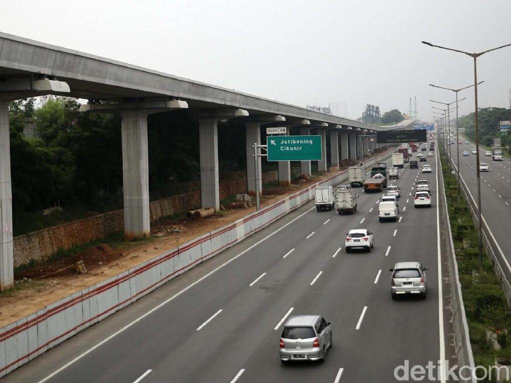 LRT Jabodebek Pakai Tiang, Begini Penjelasan Kontraktor