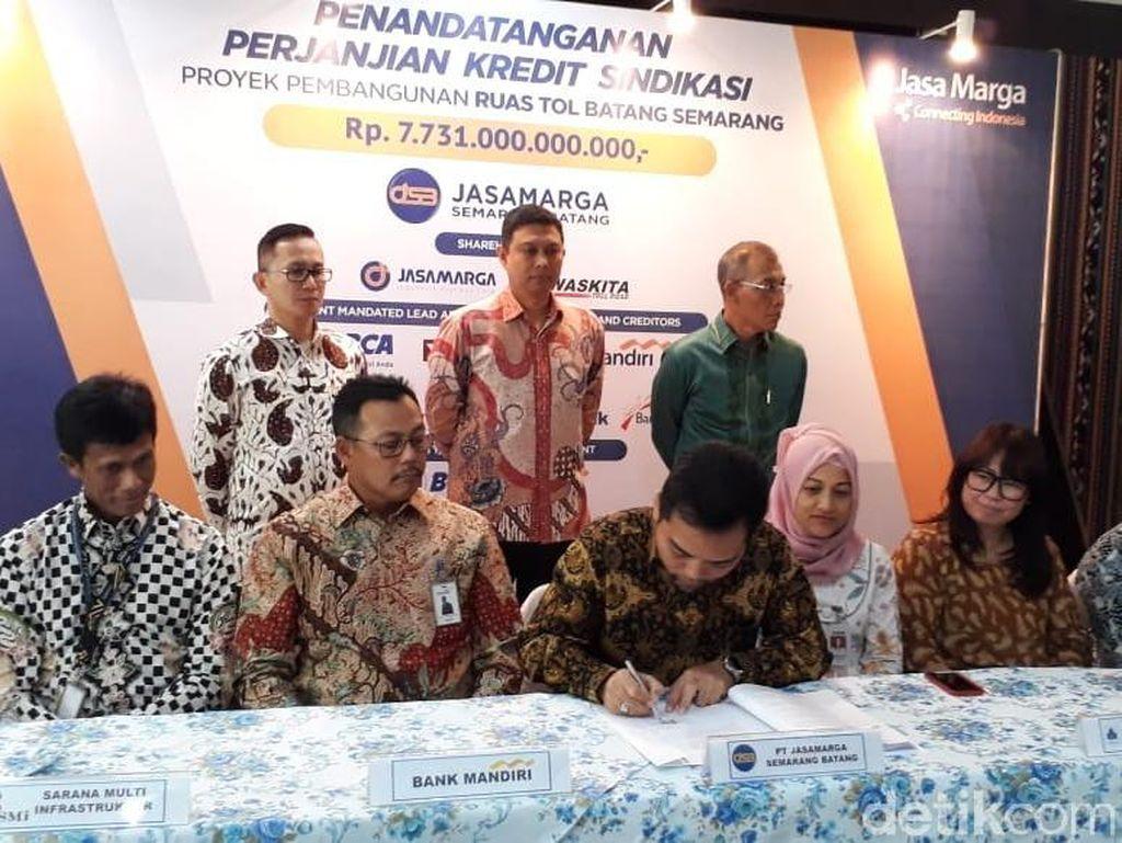 Jasa Marga Dapat Pinjaman Rp 7 Triliun Bangun Tol Batang-Semarang