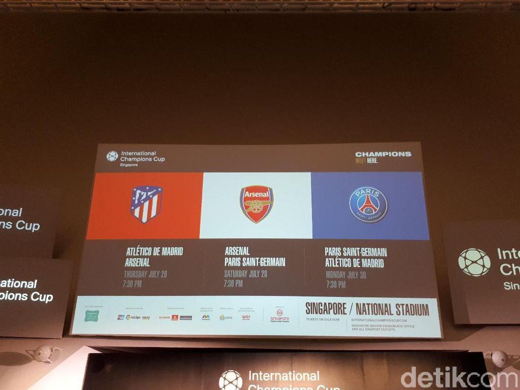 Jadwal International Champions Cup 2018 di Singapura