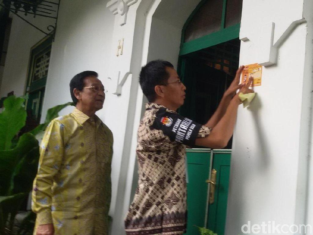 Coklit KPU DIY, Pantarlih Datangi Kediaman Sultan HB X