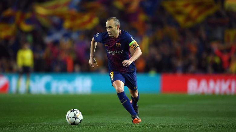 Di Akhir Musim Iniesta Akan Tinggalkan Barcelona