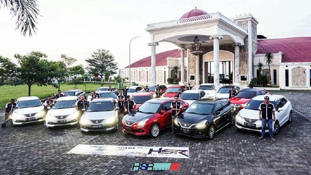 Touring Perdana Pencinta Mobil Baleno