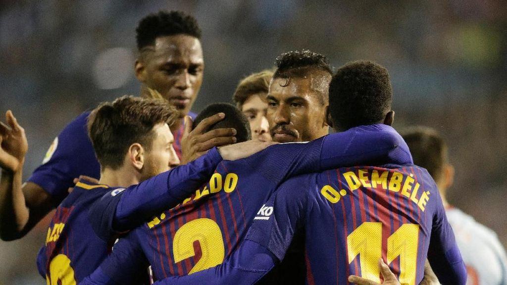 Kans Barcelona Sudah Pastikan Gelar Juara Tanpa Bermain