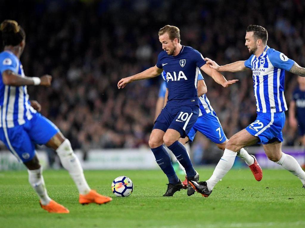 Brighton vs Tottenham Sementara Masih 0-0