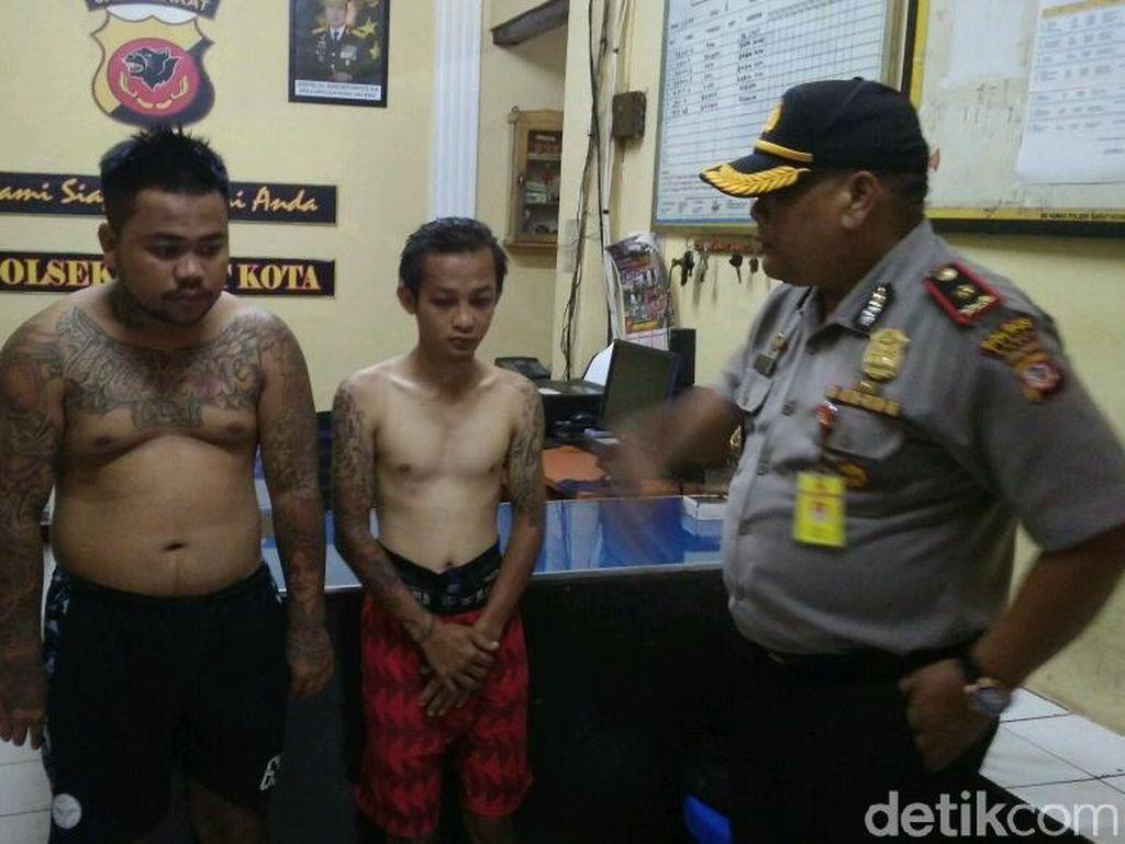 Pemuda Mabuk Rusak Pos Polisi di Garut Sakit Hati Karena Ditilang