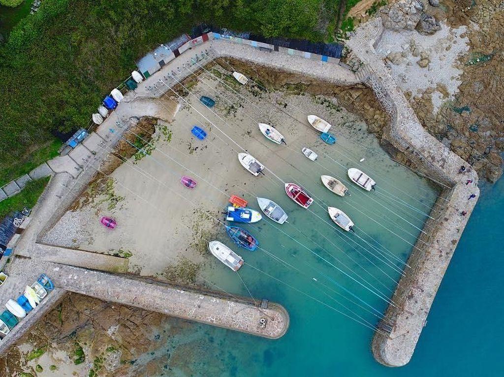 Foto: Seperti Ini Pelabuhan Kecil yang Dibangun Bajak Laut