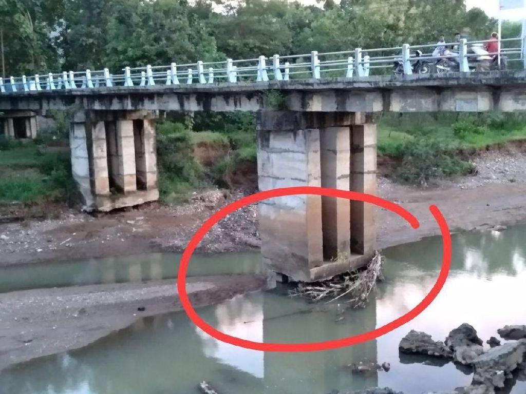 Awas! 4 Jembatan di Ponorogo Rawan Ambrol