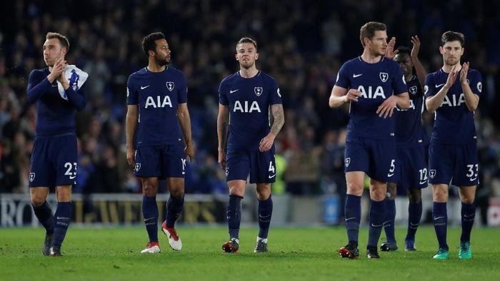 Tottenham tampil impresif di bawah Mauricio Pochettino, namun belum memenangi trofi. (Foto: Matthew Childs/Action Images via Reuters)