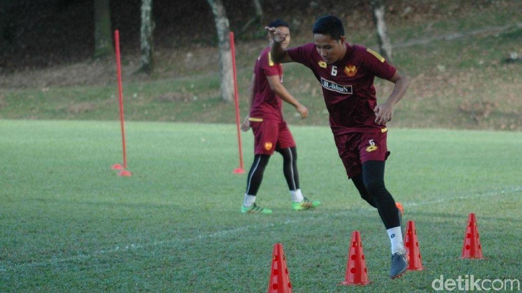 Kembali Buat Gol, Evan Dimas Buat Catatan Gemilang di Malaysia