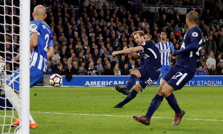 Tottenham Ditahan Brighton Imbang 1-1