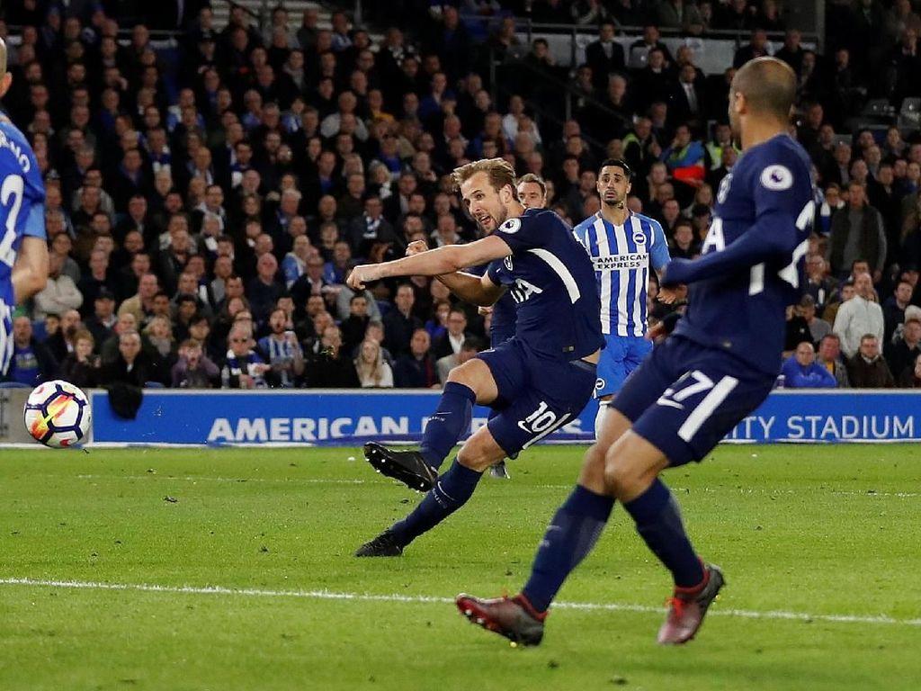 Tottenham Ditahan Brighton 1-1