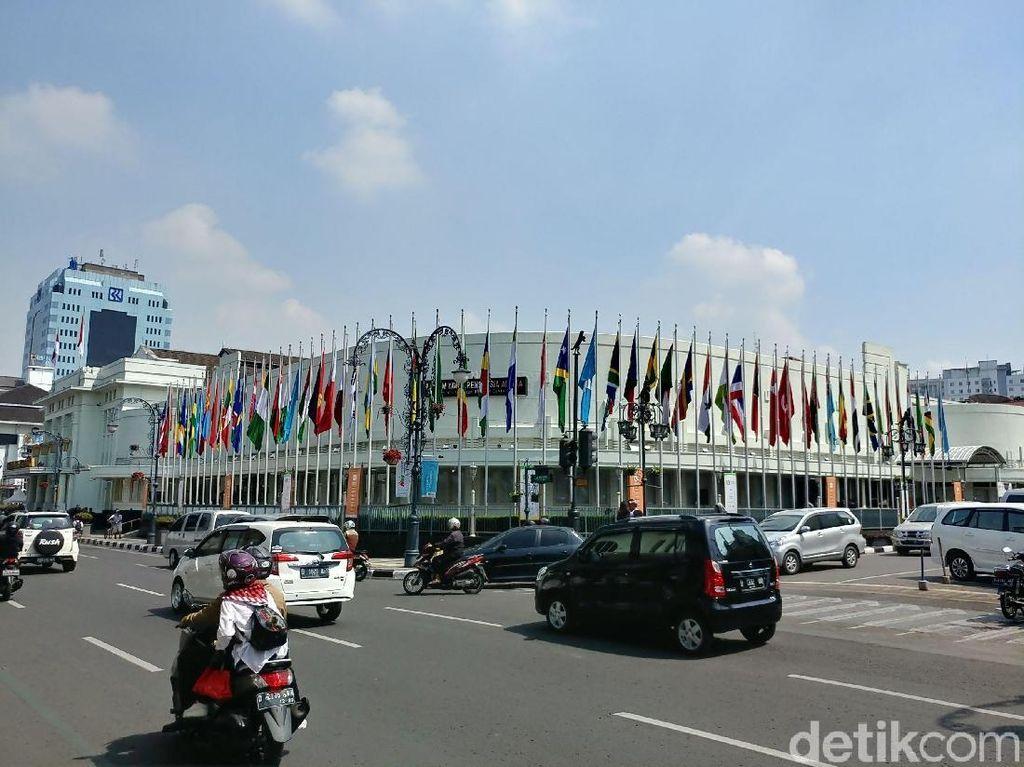 Besok Festival KAA, Jalan Sekitar Gedung Merdeka Bandung Dialihkan