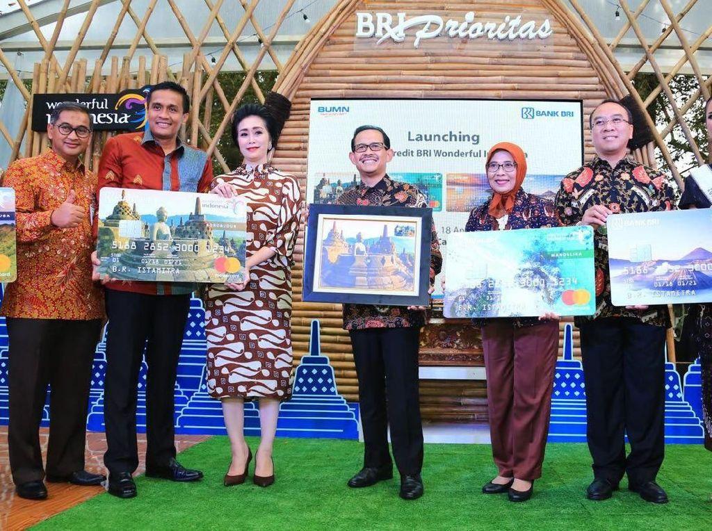 BRI Launching Kartu Kredit untuk Millenials Traveller