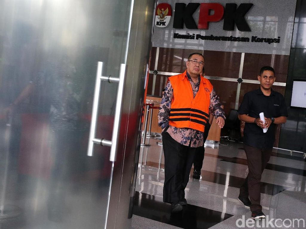 Cagub Sultra Jalani Pemeriksaan Lanjutan di KPK