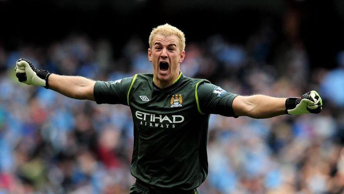 Kiper Manchester City, Joe Hart. (Foto: Shaun Botterill/Getty Images)
