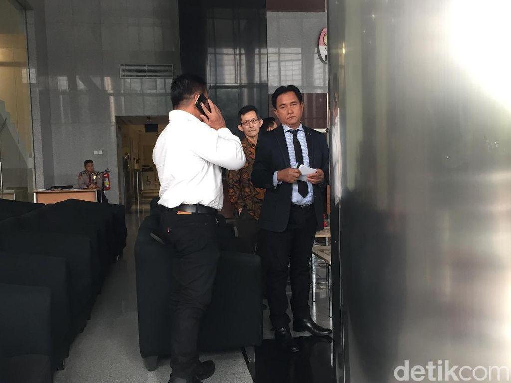 Yusril ke KPK, Dampingi Tersangka Kasus BLBI