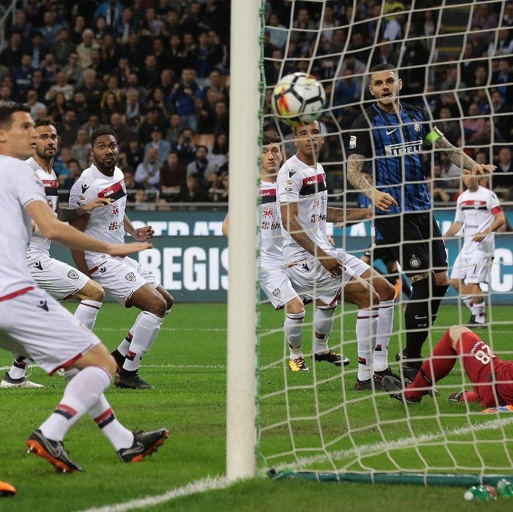 Inter Hajar Cagliari 4-0