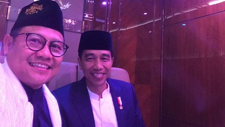 Cak Imin Pamer Diajak Jokowi Naik Pesawat Kepresidenan