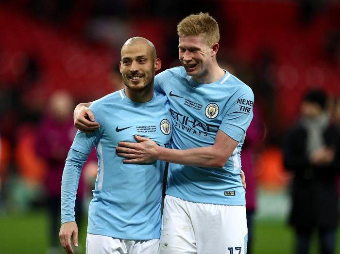 Manchester City juara bertahan Piala Liga Inggris (Catherine Ivill/Getty Images)