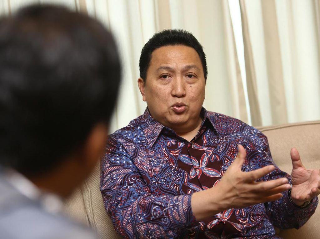 Bos Adaro Ungkap Pembicaraan dengan Jokowi soal DMO Batu Bara