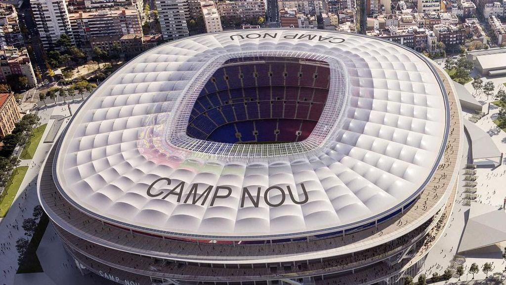 Keren dan Modern, Ini Rancangan Wajah Baru Camp Nou