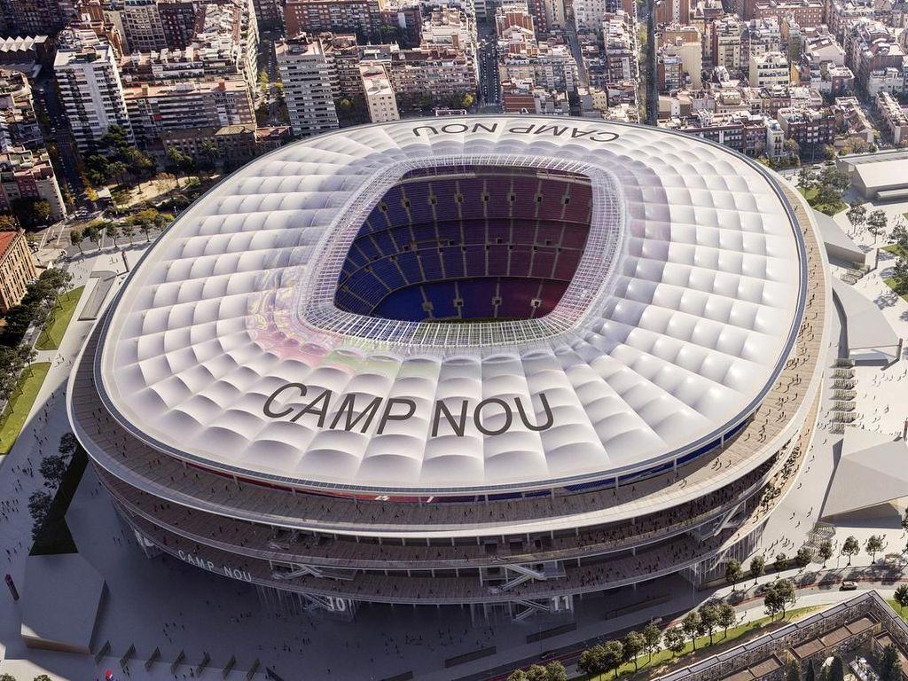 Swissx Camp Nou, Nama Baru Stadion Barcelona?