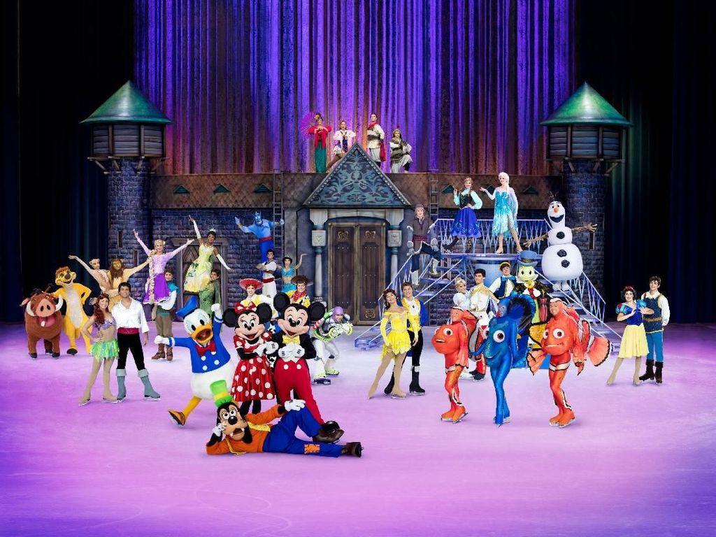 Frozen hingga Jenakanya Zootopia di Disney on Ice Jakarta