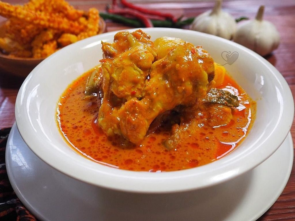 Resep Pembaca : Gulai Ayam Merah Khas Aceh