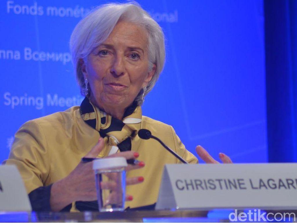 IMF: Perang Dagang AS-China Bisa Turunkan Ekonomi 1%