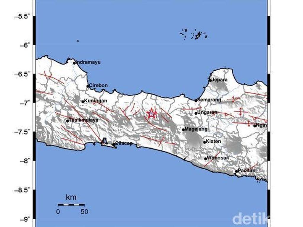 Mengenali Sesar Lokal, Pemicu Gempa Banjarnegara