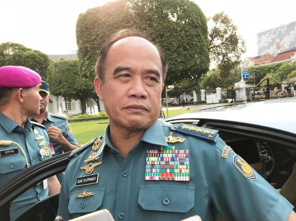 Akan Pensiun, KSAL Jelaskan ke Jokowi Tantangan AL ke Depan