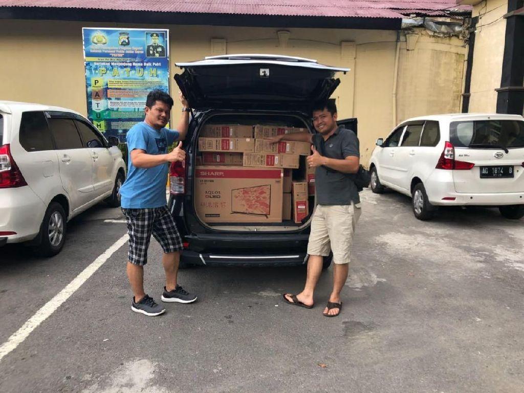 Pembajak Truk di Tol Tangerang-Merak Ditangkap di Kediri