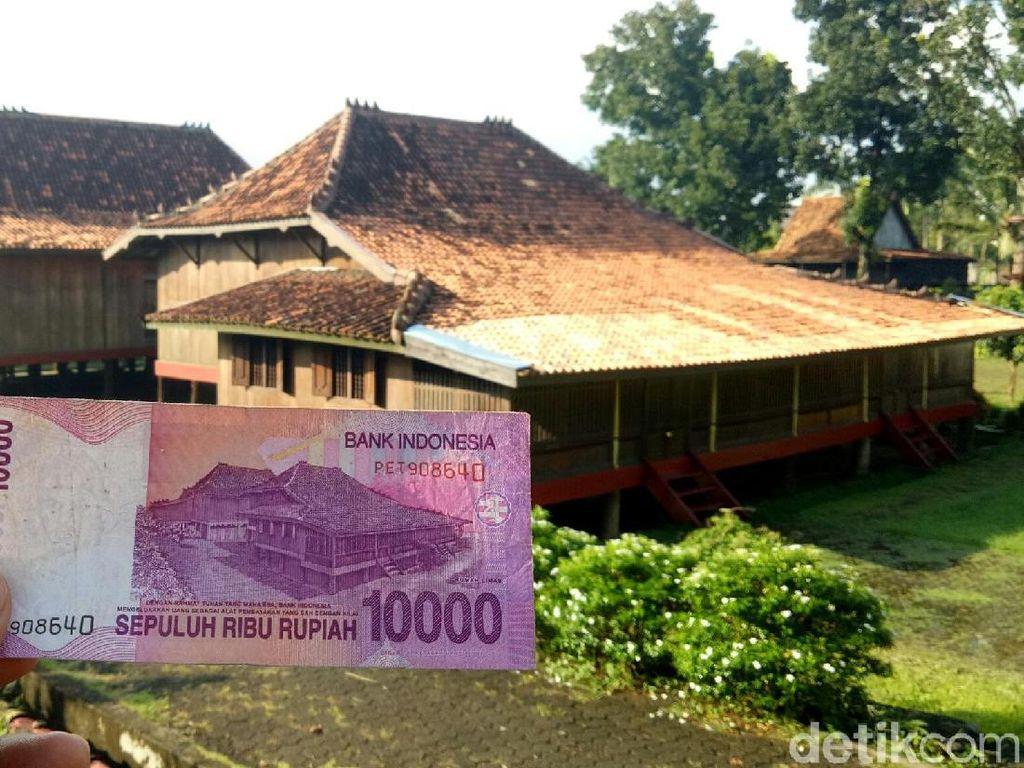 Rumah Limas di Uang Rp 10 Ribu yang Penuh Filosofi