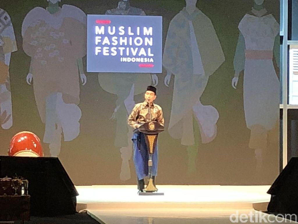 Jokowi: Lakukan Modernisasi Tanpa Lupakan Nilai Agama dan Budaya