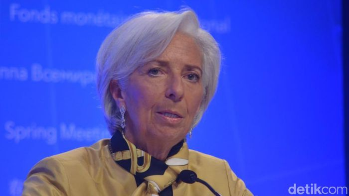 Christine Lagarde. Foto: Dana Aditiasari/detikFinance