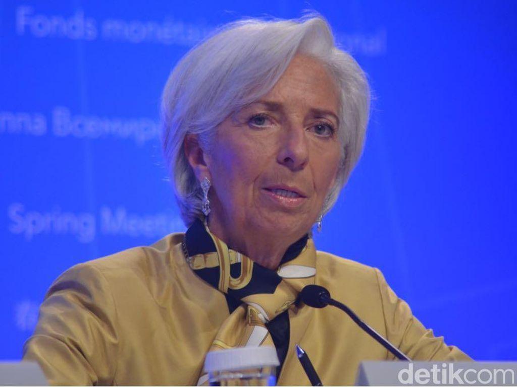 Lagarde Mundur dari Bos IMF untuk Jadi Presiden Bank Sentral Eropa