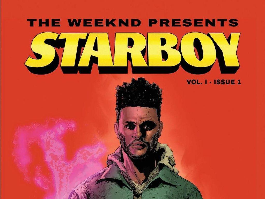 The Weeknd Jadi Superhero di Komik Marvel Starboy