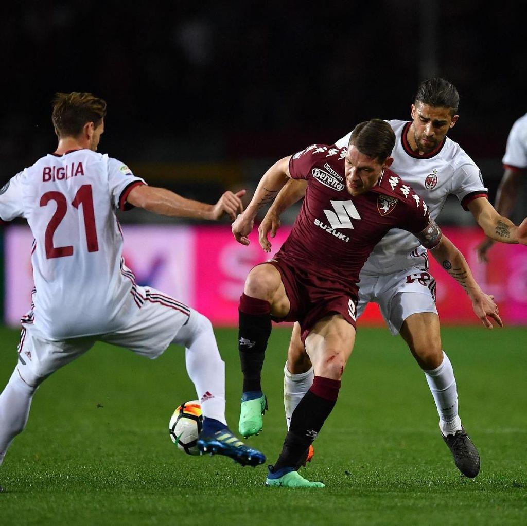 AC Milan Berimbang dengan Torino