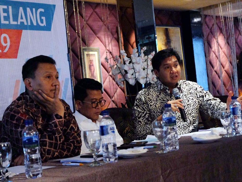 Elektabilitas Jokowi 58,5% Berdasarkan Survei Cyrus