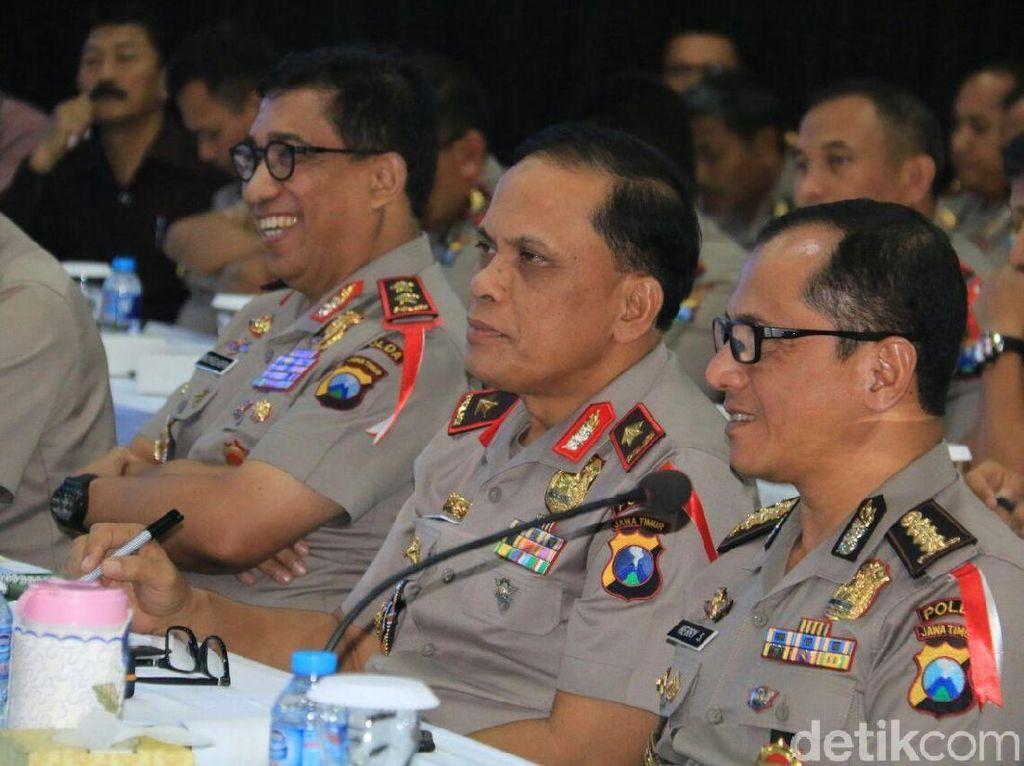 Kunjungi Polda Jatim, Komisi III DPR Pastikan Pengamanan Pilkada